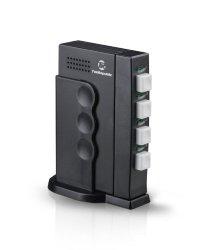 Tek Republic TUS-400 USB Sharing Switch – 4 Port Manual Switch One USB Device/Hub Between Four Computers