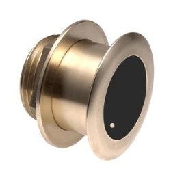 Garmin B175M Bronze Tilted Thru-hull Transducer with Depth & Temperature (0° tilt, 8-pin) 010-11939-20