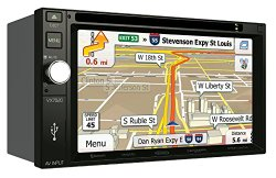 Jensen VX7020 6.2-Inch TFT Car Stereo 2.0 DIN MultiMedia Receiver with Built-In Bluetooth and Ext Mic/USB/App Control