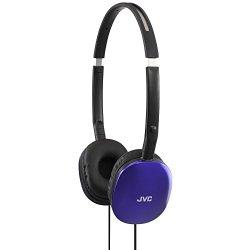 JVC HAS160A Flat Headphones – Blue