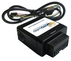 MotoSafety MWVAS1 Teen Safety Wired GPS Vehicle Tracking System and OBD Device