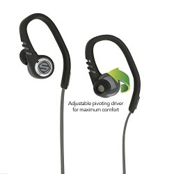 Scosche sportCLIPS 3 Sport Earbuds With Adjustable Pivoting Drivers