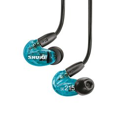 SHURE Sound Isolating Earphones SE215 Special Edition transformer graphics Lucent Blue SE215SPE-A