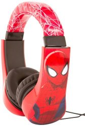 Spiderman Kid Safe Over the Ear Headphone w/ Volume Limiter, Styles May Vary (30344)