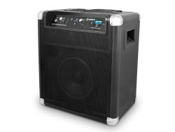 ION Block Rocker Bluetooth Portable Speaker System with Auxiliary USB Charger with extended 75 hour battery (Certified Refurbished)