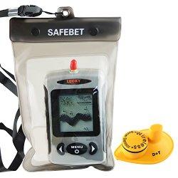 Lucky FFW-718 Wireless Portable Sonar Fish Finder with Dot Matrix 40m Range