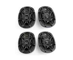 NEW 2 Pairs KICKER DS693 6×9″ 560W 3 Way Car Audio Coaxial Speakers 11DS693