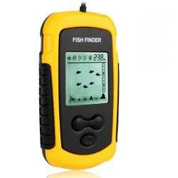 Portable Wired Fish Finder LCD Display Sonar Sensor Fishfinder Alarm Transducer Fishfinder