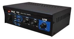 Pyle Home PCA3 150-Watt Stereo Mini Power Amplifier
