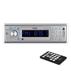 Pyle PLCD5MRBTS Bluetooth Stereo Radio Headunit Receiver – Black