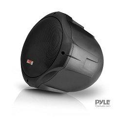 Pyle PLMRB65 Marine Wakeboard Speakers, Dual 6.5″ Two-Way Speaker Pair – Black