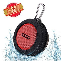 VicTsing® Phoenix Wireless Bluetooth 4.0 Portable Speaker w/ 10 Hours Playing Time, 5W Speaker for Outdoors/Shower