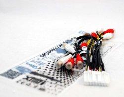 Xtenzi RCA Cord Assembly Harness Audio Video For Pioneer AVIC X850BT AVIC X8510BT AVIC X950BH AVIC Z150BH (CDP 1540)
