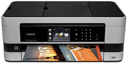 Brother Printer MFCJ4510DW Wireless Color Photo Printer with Scanner, Copier and Fax