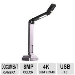 HoverCam Solo 8 Document Camera 8.0 MegaPixels 30 Frames/Sec Speed Over USB