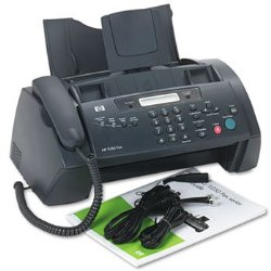 Hp 1040 Inkjet Fax Machine W/built-in Telephone Handset – Print Scan & Send Faxes!