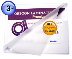 Letter Laminating Pouches 3 Mil 9 x 11-1/2 Hot Qty 100