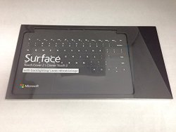 Microsoft Surface Touch Cover 2 with Backlighting Black