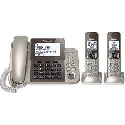 Panasonic KX-TGF352N Corded / Cordless Dect 2 Handset Landline Telephone