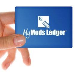 Pocket Prescription Organizer – My Meds Ledger
