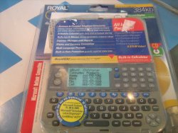 Royal Electronics Organizer Model#ds3360~384kb
