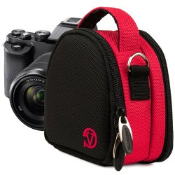 VanGoddy Compact Mini Laurel HOT PINK Camera Pouch Cover Bag fits Nikon 1 V2, J4, J3, J2, J1, S2, S1