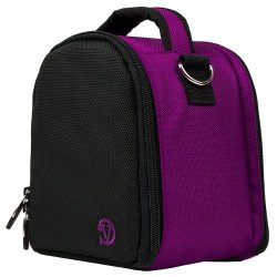 VanGoddy Laurel PURPLE Compact Camera Pouch Cover Bag fits Nikon D7100 D7000 D5300 D5300 D5200 D5100 D3300 D3200 D3100 P520 P610