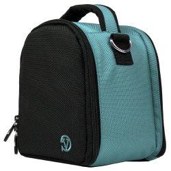VanGoddy Laurel SKY BLUE Compact Camera Pouch Cover Bag fits Nikon D7100 D7000 D5300 D5300 D5200 D5100 D3300 D3200 D3100 P520 P610