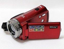 16m 720p Handycam Recorder 16x Digital Zoom Anti Shake w/ LED Light