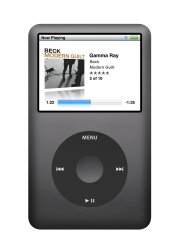 Apple iPod classic 120 GB Black 7th Generation (Discontinued by Manufacturer)