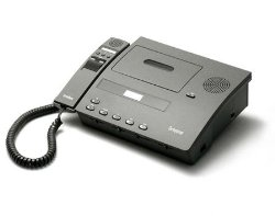 Dictaphone 2740 Standard Cassette Express Writer with Hand Microphone Control
