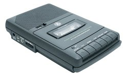GE 35027 AC/DC Cassette Recorder