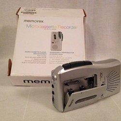Memorex MB2186A Micro Cassette Player Voice Recorder VOX Voice Activated
