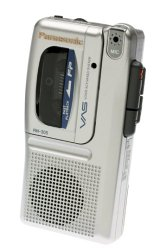 Panasonic RN305 Micro Cassette Recorder with Voice Activation System