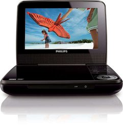 Philips 7″ Portable DVD Player PET741B (Certified Refurbished)