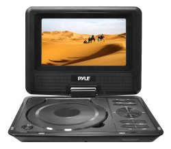 Pyle Home PDH9 9-Inch Portable TFT/LCD Monitor with Built-In DVD Player MP3/MP4/USB SD Card Slot