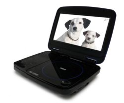 RCA DRC99380U 8-Inch Portable DVD Player with USB and SD Card Slot