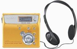 Sony MZ-N505 Net MD Walkman Player/Recorder (Gold)