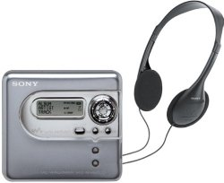 Sony MZ-NH600D Hi-MD MiniDisc Walkman