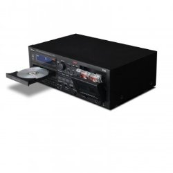 Teac AD-RW900-B CD Recorder and Auto Reverse Cassette Deck with USB