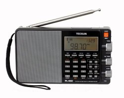 Tecsun PL880 Portable Digital PLL Dual Conversion AM/FM, Longwave & Shortwave Radio with SSB (Single Side Band) Reception