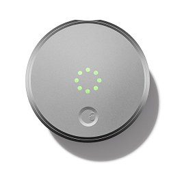 August Smart Lock – Keyless Home Entry with Your Smartphone, Silver