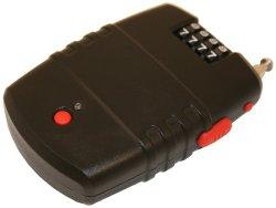FJM Security SX-776 Cable Lock Alarm with Piercing 120 Decibel Siren