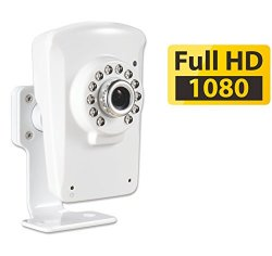 PHYLINK Cube HD1080,Wireless IP Camera Video Monitoring,IR Night Vision up to 30 feet