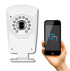 PHYLINK Cube HD720, Wireless WiFi Security IP Camera, Infrared Night Vision