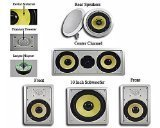 Acoustic Audio HD516 5.1 Home Theater Speaker System (White)