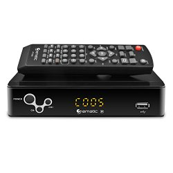 Ematic AT103B Digital Converter Box with Recording & Media Playback