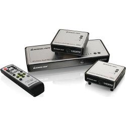 IOGEAR Long Range Wireless 5×2 HDMI Matrix PRO with 1 Additional Receiver