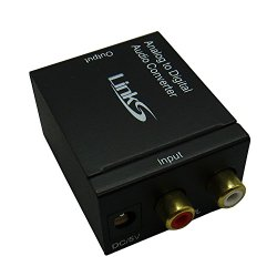 LinkS Analog to Digital Audio Converter Adapter