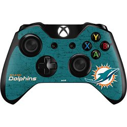 Miami Dolphins Distressed- Aqua – Skin for Xbox One – Controller